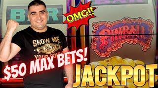 ⋆ Slots ⋆2 HANDPAY JACKPOTS⋆ Slots ⋆ On High Limit Pinball Slot Machine ! $50 Max Bet Top Dollar Slo
