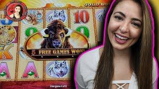 Buffalo Gold Handpay Jackpot FEAT Mega Jackpot on Red Hot!