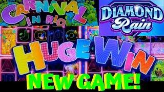 NEW! •CARNIVAL IN RIO SUPER SPIN• •Diamond Rain• Live play/Bonus