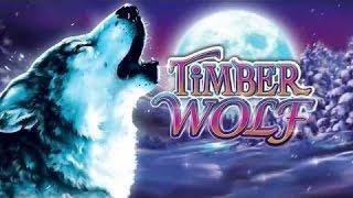 Aristocrat -  Timber Wolf :  Bonus on a  $1.50 bet