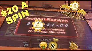 December to Remember! JACKPOT HANDPAY and BIG WINS in Las Vegas! $20 a SPIN