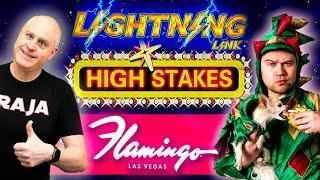 ★ Slots ★ FLAMINGO LAS VEGAS Handpay Action ★ Slots ★ PIFF The Magic Dragon Joins for Lightning Link