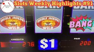 Slots Weekly Highlights #91 to You who are busy★ Slots ★TUTS REIGN Slot 9 Line 赤富士スロット High Limit Ha