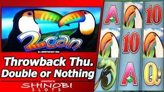 2Can Slot - TBT Double or Nothing Live Play and Free Spins