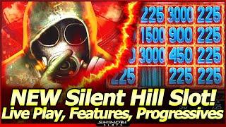 Silent Hill Return Slot - NEW Game!  Live Play, Progressives and Free Spins with Hold & Spin feature