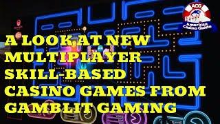 A Look at Multiplayer Skill-Based Video Gambling Games Coming to U.S. Casinos From Gamblit Gaming •