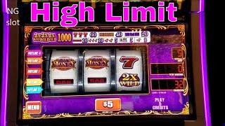High Limit Slots Live Play • Easy Money , Cleopatra , African Diamond High Limit Slots Live Play