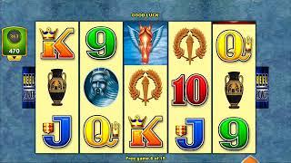WINGS OVER OLYMPUS Video Slot Casino Game with a FREE SPIN BONUS