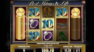 Best things in life slot - 501 win!
