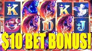 $10 Bet Bonus on High Limit Slot Machine! Yeap, I Hit it and Quit it!