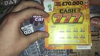 Scratchcards From The National Lottery © (120)