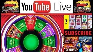 BONUS (x3) BUFFALO GOLD SUPER FREE GAMES with JEN & CHUCK Slot Machine PENNY Casino BIG WINS!