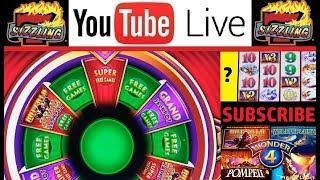BONUS (x3) BUFFALO GOLD SUPER FREE GAMES with JEN & CHUCK Slot Machine PENNY Casino BIG WINS!