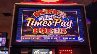 HAPPY HOLIDAYS EPISODE, LAST OF 2019. DANCING DRUMS & DD EXPLOSION, SUPER TIMES PAY VIDEO POKER