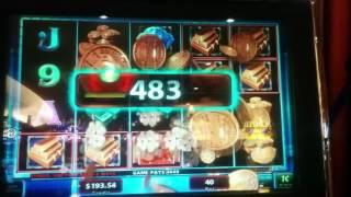 Mega Vault IGT Slot Machine - 3 Line Hits - Multipliers