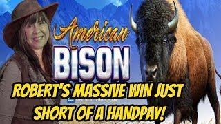 HUGE WIN BONUS ON AMERICAN BISON & CAN CAN BONUS