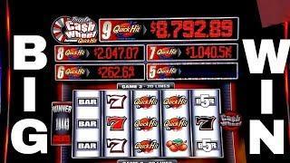 Cash Wheel Slot Machine Max Bet •SUPER BIG WIN• Bonus Won | OVER 100X Win | 5 Quick Hits Won