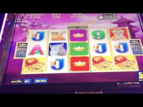 Jade Mountain HAND PAY JACKPOT $12.50 high limit slot machine