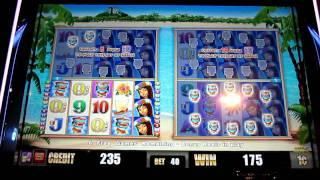 Tiki Sun Slot Machine Bonus (Aristocrat)