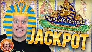 Raja's BIG Fortune! •HIGH LIMIT Pharaoh's Fortune BONUS HIT!  •