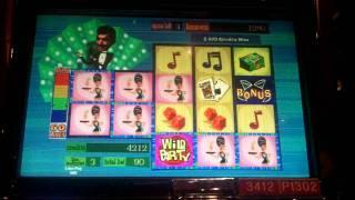 Dean Martin's Wild Party Slot Bonus - WMS
