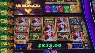 •  WE FINALLY WIN ON MIGHTY CASH SLOTMACHINE!!