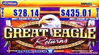 Great Eagle Returns classic slot machine, DBG