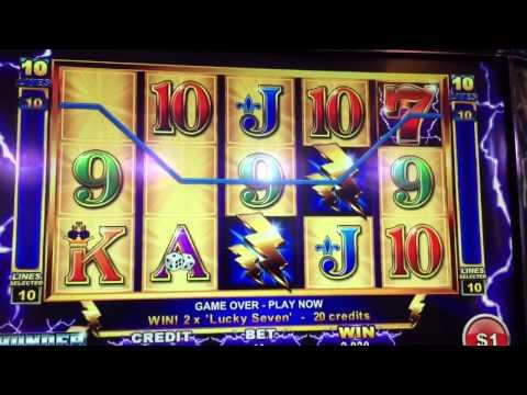 Thunder Cash**JACKPOT** on a LINE HIT!!!!