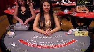 Live VIP Platinum High Roller Blackjack By Evolution Gaming