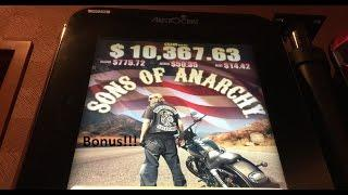 *Big Win!* - Sons of Anarchy Bonuses (3 videos)
