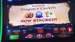 Wild Dragon Slot Machine Bonus - 4 Symbol Trigger