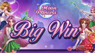 BIG WIN on Moon Princess Slot (Play'n Go) - Love Free Spins - 2€ BET!