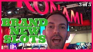 • NEW Konami SLOTS for 2018 • Star Watch Magma + PURRfect Pirates + MORE • Brian Christopher @ G2E