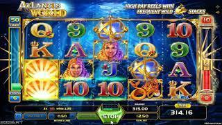 Atlantis World casino slots - 537 win!