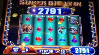 HAND PAY••LOBSTERMANIA 2••Progressive 2 Cent Slot Machine**MOM'S WIN!