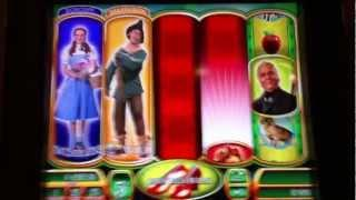 RUBY SLIPPERS | WMS - 20 SPINS RETRIGGERED | Wizard of Oz Slot Machine Bonus
