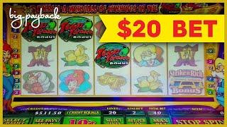 ALL FEATURES & RETRIGGER! Texas Tina Slot - UP TO $20 MAX BETS!