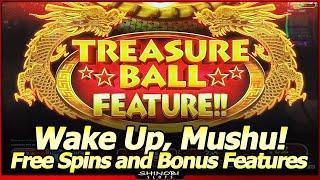 Treasure Ball Feature with Cobra Hearts and Dragon Treasure Slots Live Play and Free Spins Bonuses
