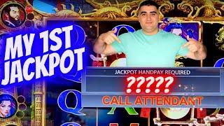 My 1st Ever Handpay JACKPOT On New IGT SLOT: $1,000 Challenge To Beat The Casino ! EP-11