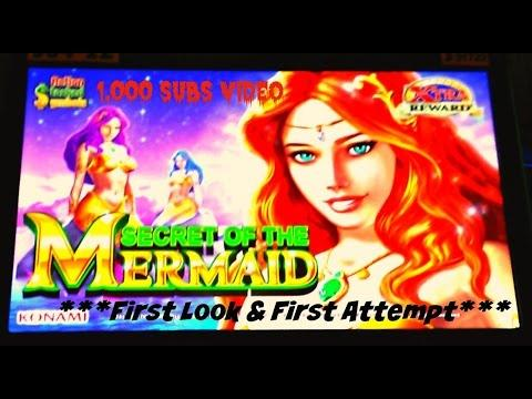 Konami - ( First Look / 1,000 sub video) Secret of the Mermaid : Big Bonus