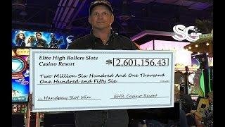 •$2.6 MILLION SLOT WIN! Vegas High Roller Casino Video Slot Machine Jackpot Handpay Aristocrat • SiX