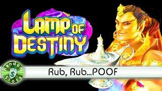 Lamp of Destiny slot machine, Rub That Bonus Lamp