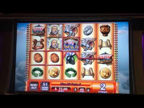 Zeus 3 high limit slots bonus win