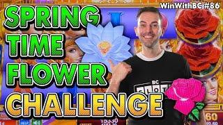 ⋆ Slots ⋆Springs Time Flower Challenge ⋆ Slots ⋆ Picking A  Beautiful Bonus.