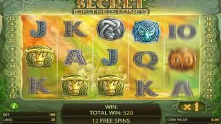 Secret of the Stones slots - 1,900 win!