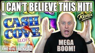 My BIGGEST Win Ever on Cash Cove! •Mega Jackpot!   The Big Jackpot