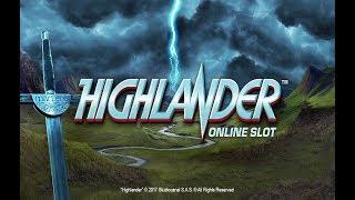 A Sneak Peek at the New Highlander Slot from Microgaming