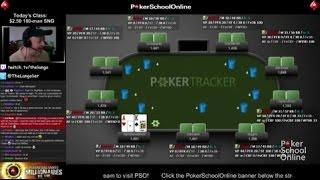 PokerSchoolOnline Member Review - 180 Man SNG Turbo's