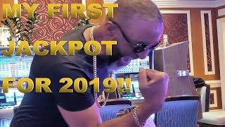 *LIVE PLAY* HIGH LIMIT FIRST JACKPOT OF 2019!