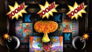 The Raja Switches Games To Cave King • ...and BOOM • BOOM • BOOM! •